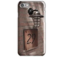 downtown historic asheville series iPhone Case/Skin