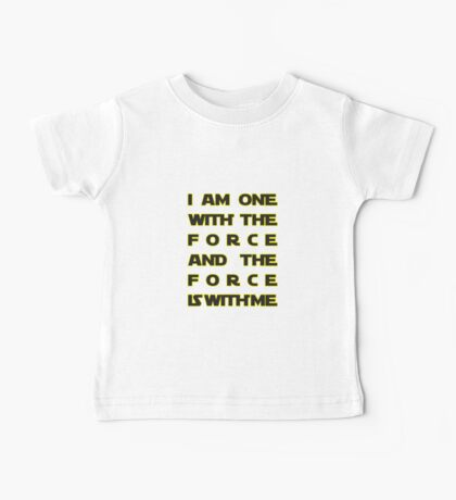 With the Force Baby Tee