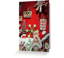 Gingerbread Wonderland Greeting Card