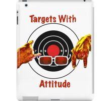 Targets With Attitude iPad Case/Skin