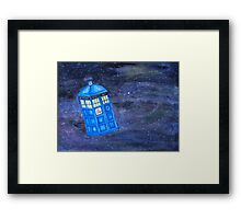All of Time and Space - Doctor Who fan art Framed Print