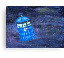 All of Time and Space - Doctor Who fan art Canvas Print