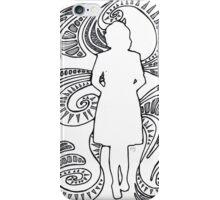 woman silhouette iPhone Case/Skin