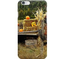 It's a Scarecrow Harvest.....! iPhone Case/Skin