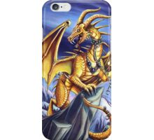 Gold Sky Dragon Iphone Case iPhone Case/Skin