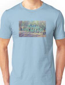 Grass Trees at Cunningham's  Gap Queensland Unisex T-Shirt