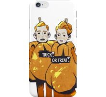 Trick? Or Treat? iPhone Case/Skin