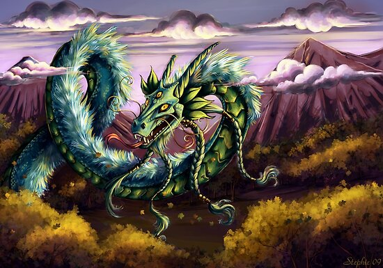 Sky Dragon by cybercat