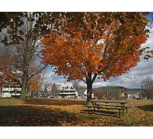 Autumn Picnic Photographic Print