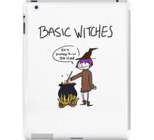 Basic Witches iPad Case/Skin