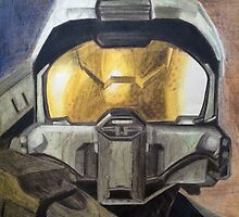 Master Chief - Halo fan art by mistidoesart