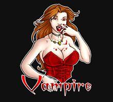 Vampire Chic White Long Sleeve T-Shirt