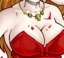 Vampire Chic Sticker
