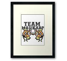 Team Magikarp Framed Print