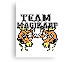 Team Magikarp Canvas Print