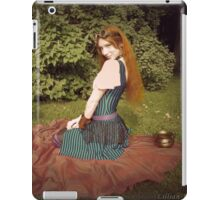 Lillian in Wonderland 3 iPad Case/Skin