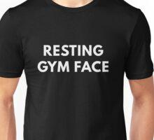 Resting Gym Face Unisex T-Shirt