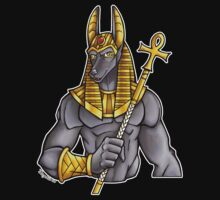 Anubis Egyptian God  by cybercat