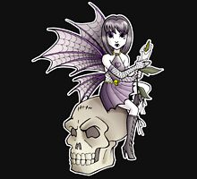 Goth Fairy Womens Fitted T-Shirt