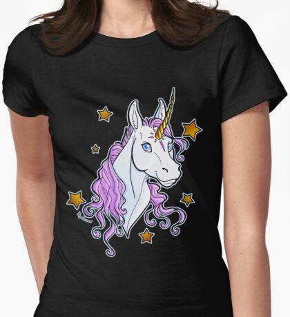 Unicorn Star Shirt Womens Fitted T-Shirt