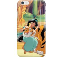 The Princess And The Tiger iPhone Case/Skin