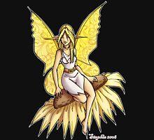 Sunflower Fairy  Womens Fitted T-Shirt