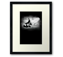 It's Dangerous To Go Limbo Framed Print