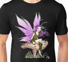 Purple Pixie and Ladybugs Unisex T-Shirt