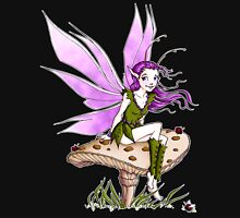 Purple Pixie and Ladybugs Unisex T-Shirt