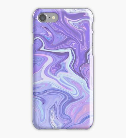 Purple Paint Holographic iPhone Case/Skin