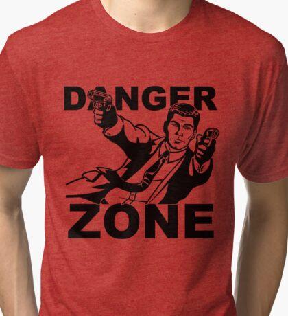 Danger Zone Shoot-Out Tri-blend T-Shirt