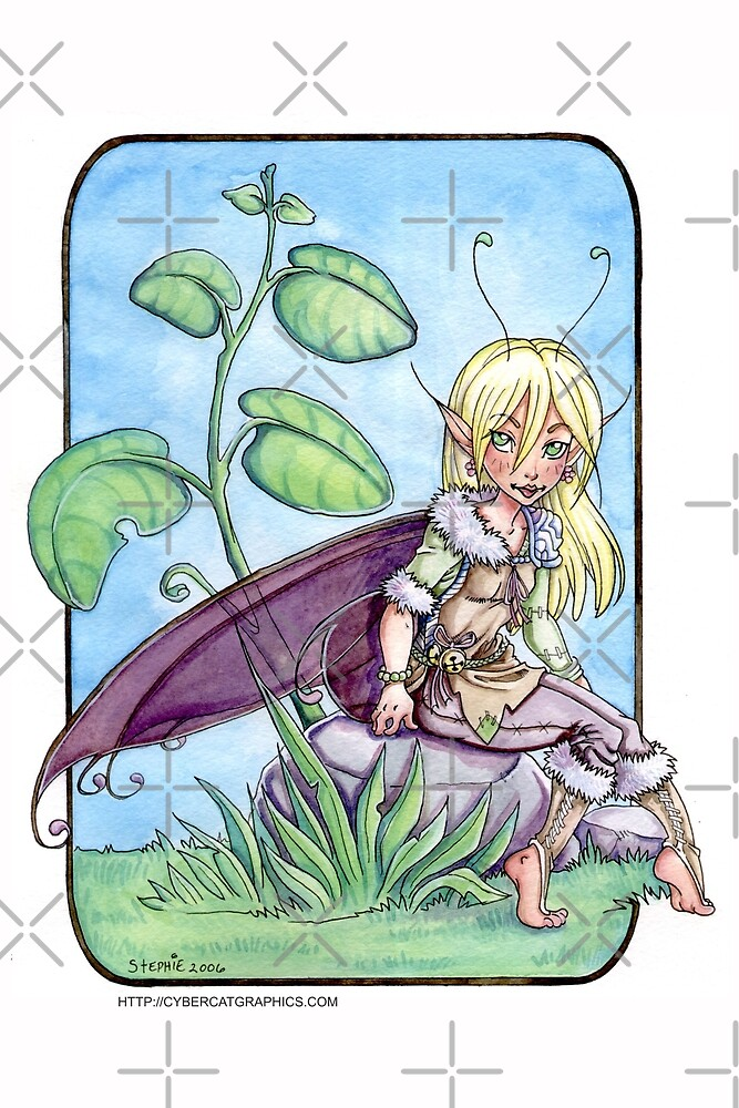 Basil the Fairy by cybercat