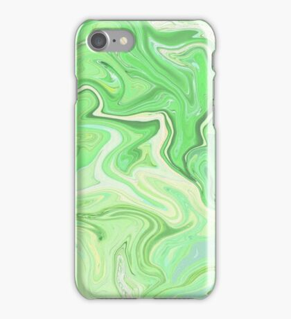 Green Paint Holographic  iPhone Case/Skin