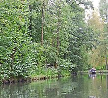 In the Spreewald, Germany by Graeme  Hyde