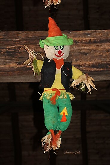Lil' Scarecrow ~ Hanging in a Barn by SummerJade
