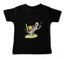 Calvin and Hobbes Star Wars Baby Tee