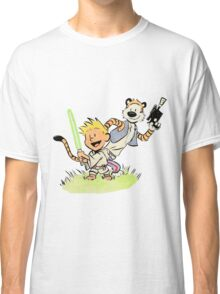 Calvin and Hobbes Star Wars Classic T-Shirt