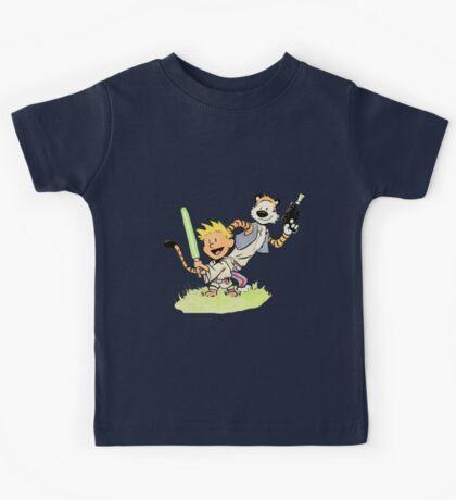Calvin and Hobbes Star Wars Kids Tee