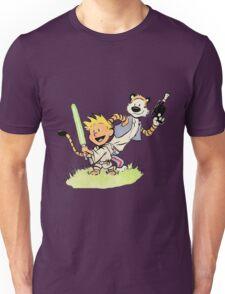 Calvin and Hobbes Star Wars Unisex T-Shirt