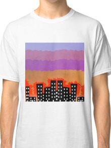 Sunset on the City Classic T-Shirt