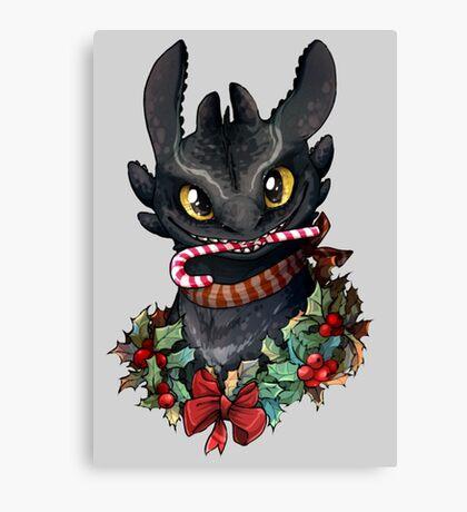 Krokmou - Toothless Canvas Print
