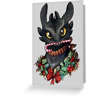 Krokmou - Toothless Greeting Card
