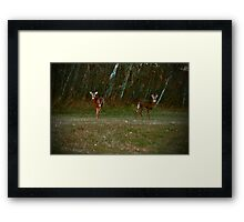 About A Boy And A Girl Framed Print