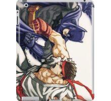 Dark Knight vs Street Fighter iPad Case/Skin