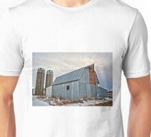 Retired Cattle Barn Unisex T-Shirt