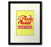 Pizza Planet Framed Print