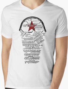 The Winter Soldier Quotes Mens V-Neck T-Shirt