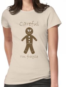 Fragile Cookies Womens Fitted T-Shirt