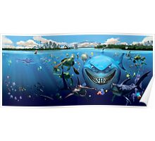 Disney, Finding Nemo and Friends Poster