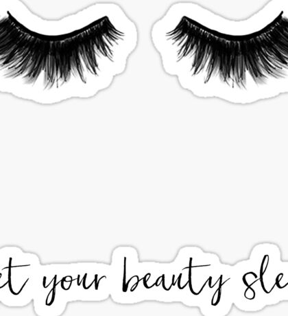 Get your beauty sleep, Sleep In, Prints,Affiche Scandinave, Printable, Make Up, Beauty, Art Print, Lashes, Wall Art, Scandinavian Sticker